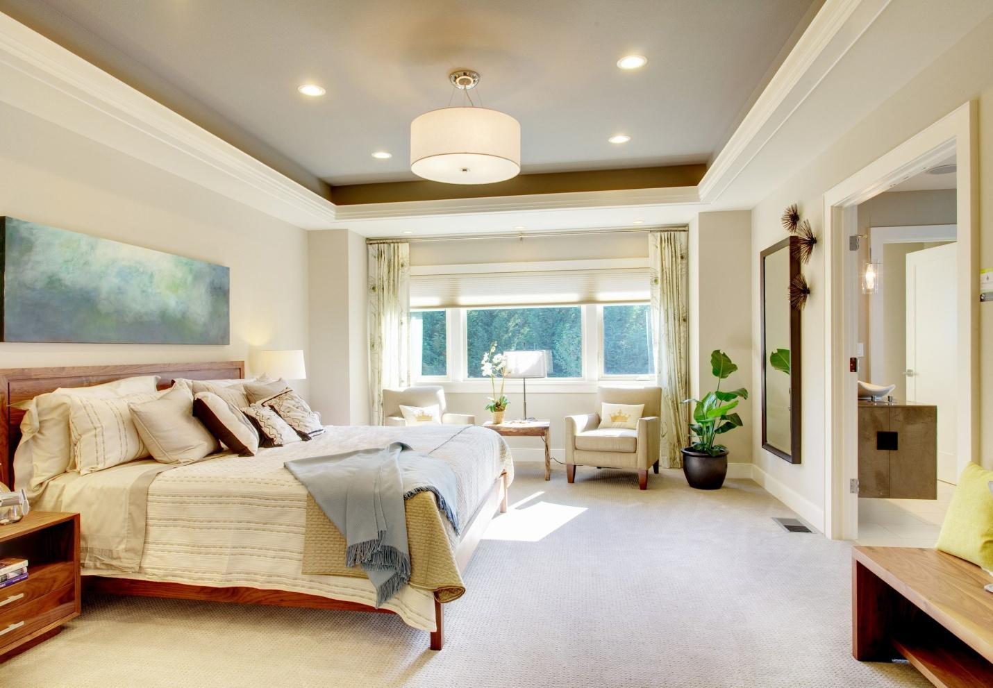 Mẫu trần thạch cao phòng ngủ sang trọng | Vĩnh Tường
