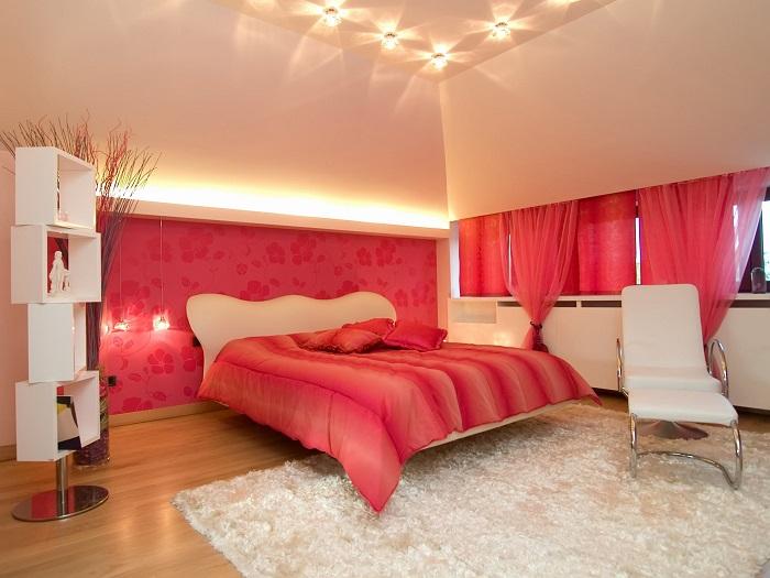 trần thạch cao phòng ngủ 08
