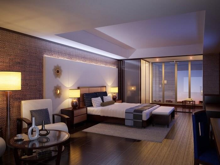 trần thạch cao phòng ngủ 10