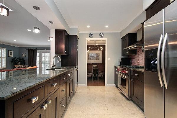 mẫu thạch cao phòng bếp nhỏ đẹp sang trọng 2021|Vĩnh Tường