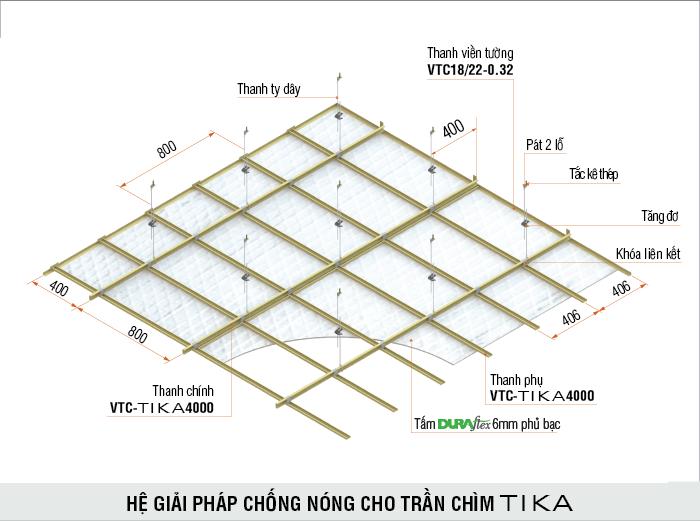 Cung cấp khung trần thạch cao vĩnh tường tại tp hcm