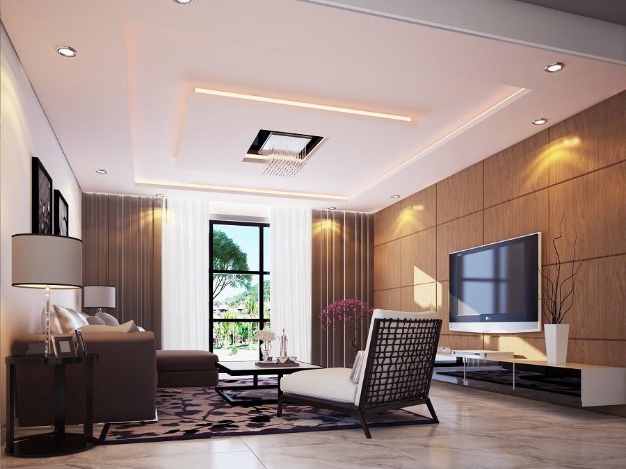 mẫu trần nhà đẹp 01