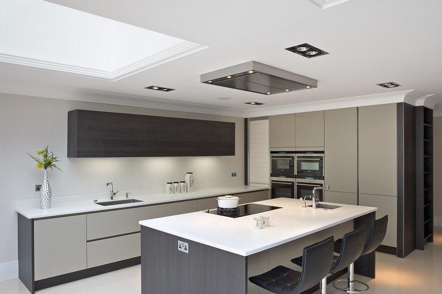 mẫu trần thạch cao phòng bếp nhỏ | Vĩnh Tường