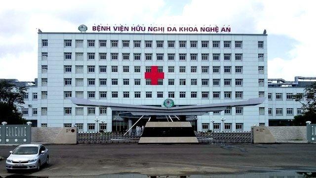 Bệnh viện hữu nghị đa khoa Nghệ An   Vĩnh Tường