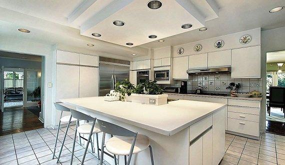 Mẫu trần thạch cao phòng bếp |Vĩnh Tường