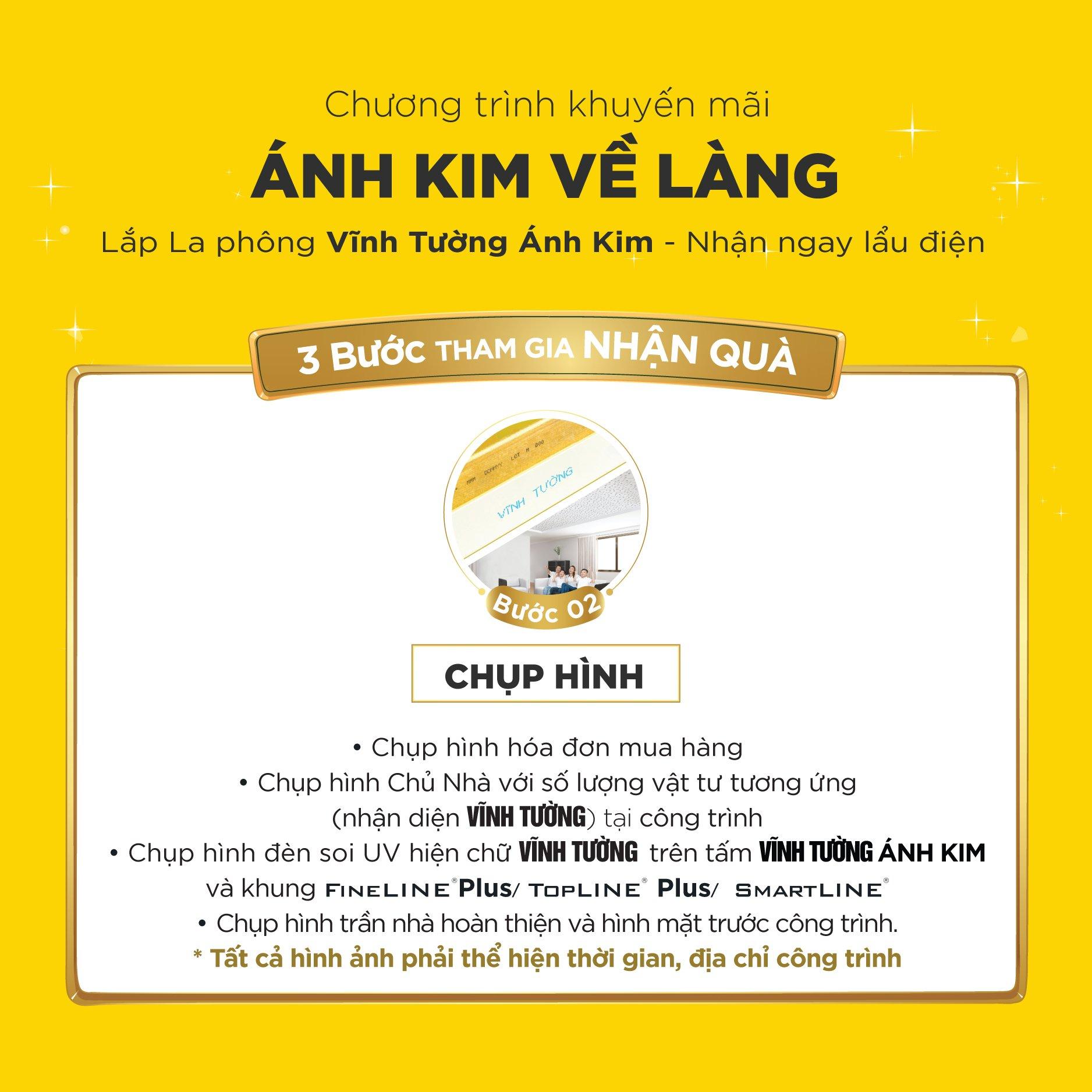 The le tham gia chuong trinh ANH KIM VE LANG