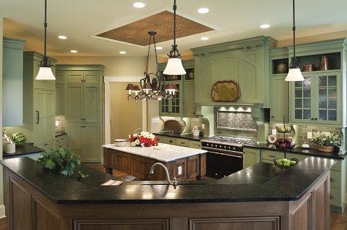Mẫu trần thạch cao phòng bếp hiện đại |Vĩnh Tường