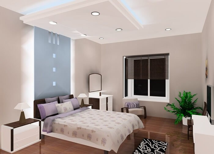 trần phòng ngủ nhỏ