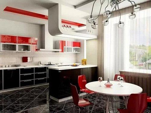mãu trần thạch cao phòng bếp đẹp năm 2020