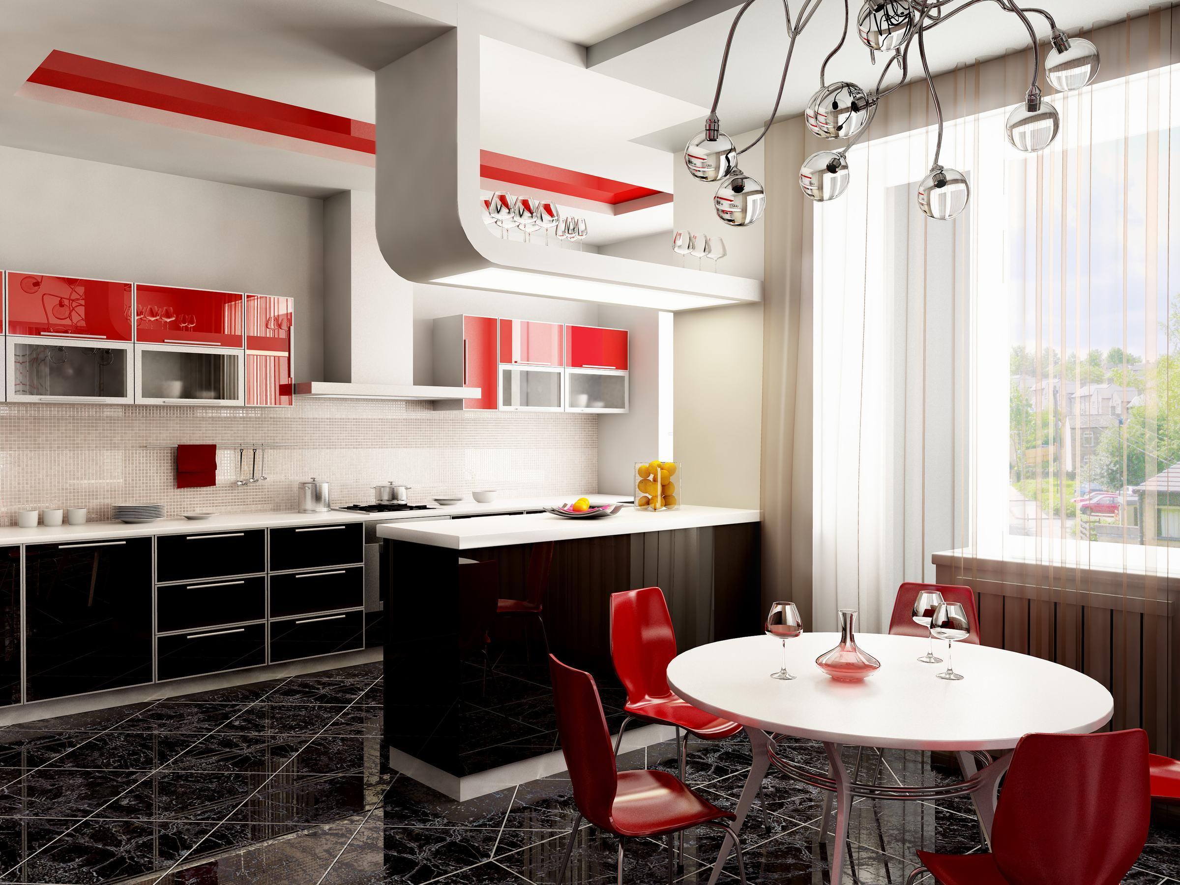 mẫu thạch cao phòng bếp đẹp |Vĩnh Tường