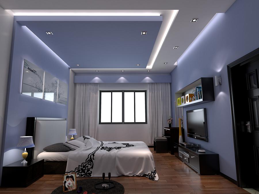 trần thạch cao phòng ngủ nhỏ