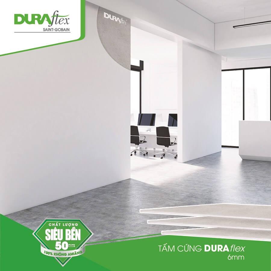 Sử dụng tấm xi măng DURAflex làm sàn cho nhà tiền chế | DURAflex