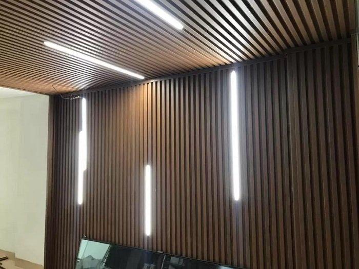 trần nhựa giả gỗ cao cấp - trần gỗ đẹp