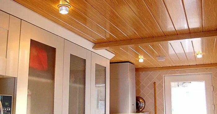 Trần nhựa giả gỗ đẹp - trần gỗ đẹp